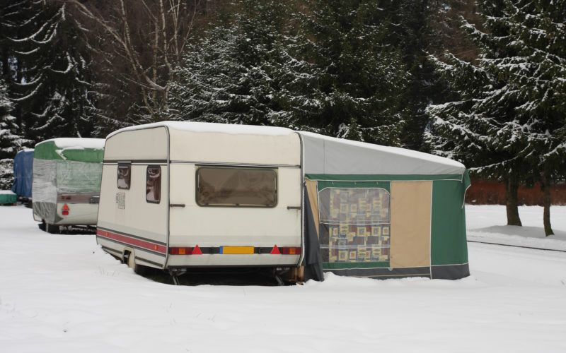 Caravanning In Winter In The UK