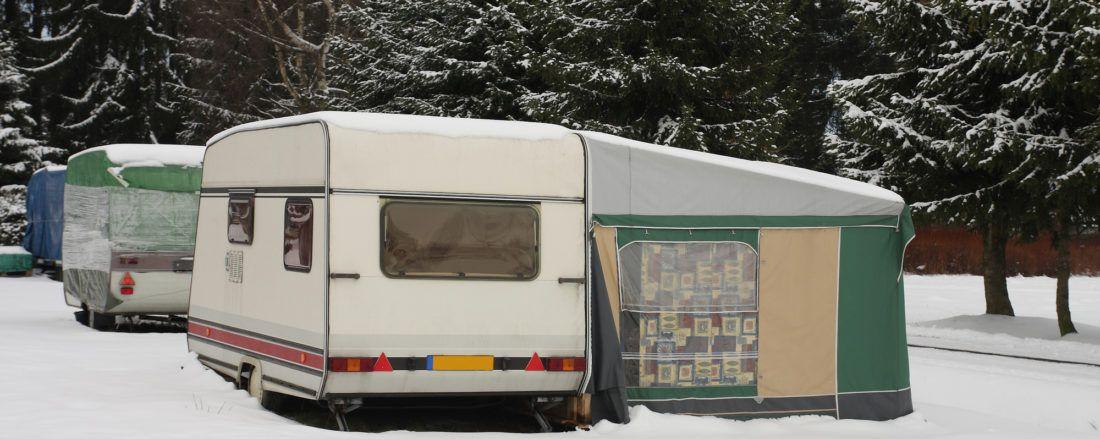 caravan winter