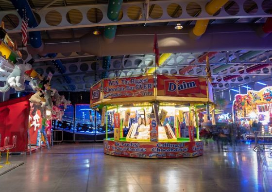 Harrogate Indoor Funfair at the Great Yorkshire Showground