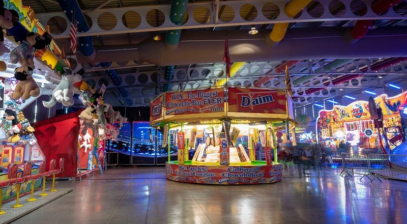 Harrogate Indoor Funfair Saturday 20 – Tuesday 30 July 2019