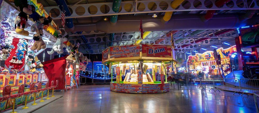 Harrogate Indoor Funfair at the Great Yorkshire Showground