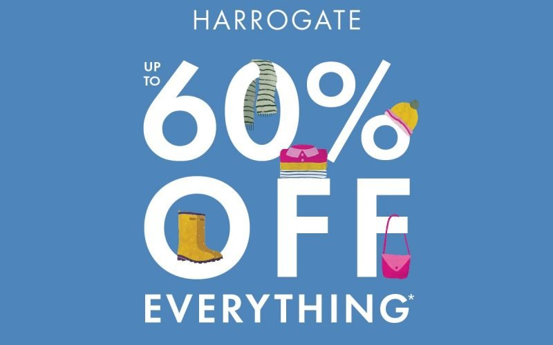 Joules Big Sale Harrogate