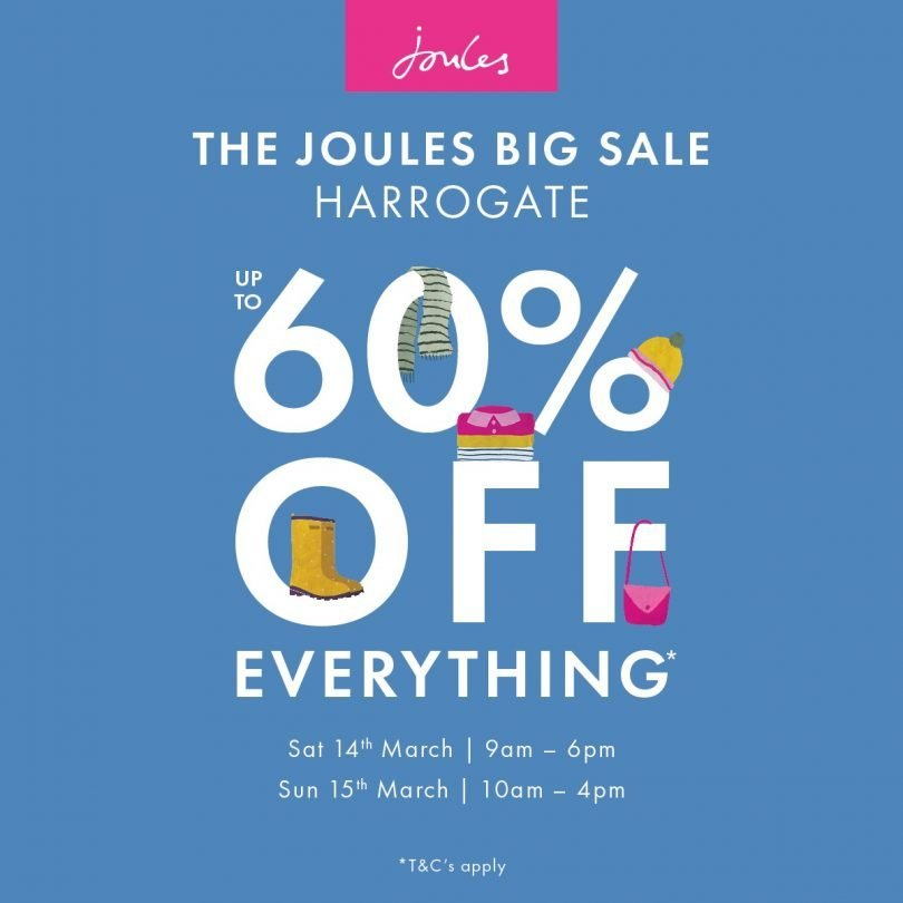Joules sale Harrogate